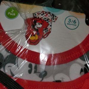 NWT Disney onesie set of 2.